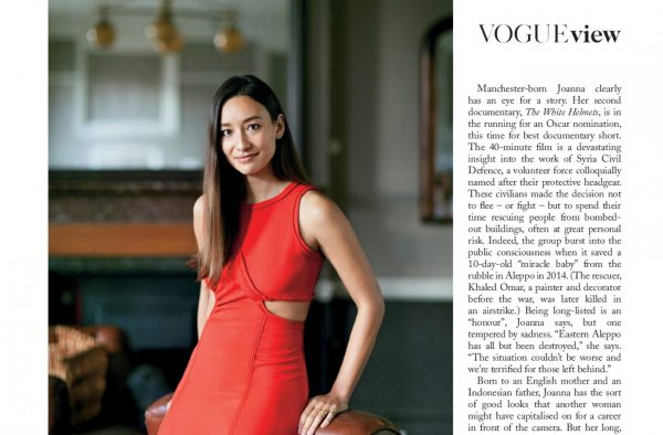 British Vogue – March 2017